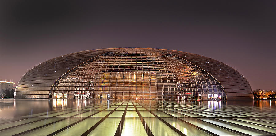Beijing Photograph - National Centre For The Performing Arts - Beijing by Brendan Reals