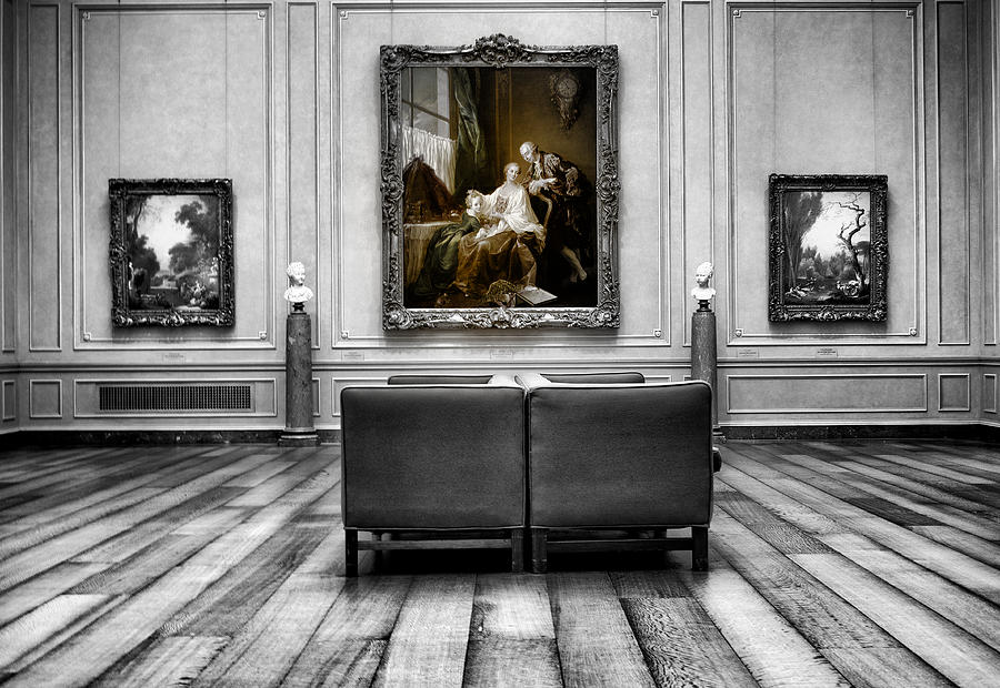 Washington Photograph - National Gallery Of Art Interiour 1 by Frank Verreyken
