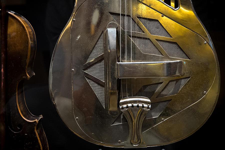 Nashville Photograph - National Guitar by Glenn DiPaola