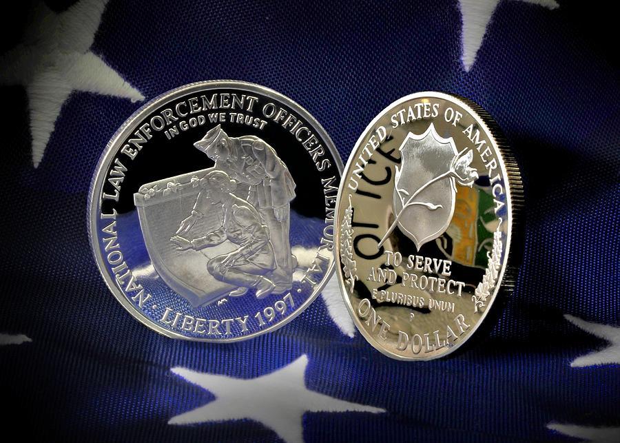 National Law Enforcement Memorial Mint Photograph