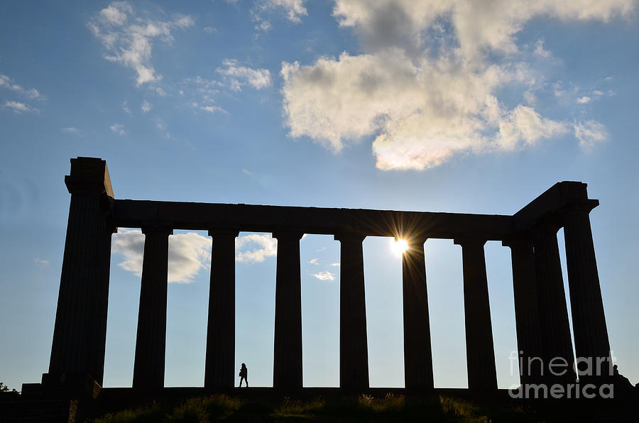 National Monument of Scotland in Edinburgh by Scott D Welch