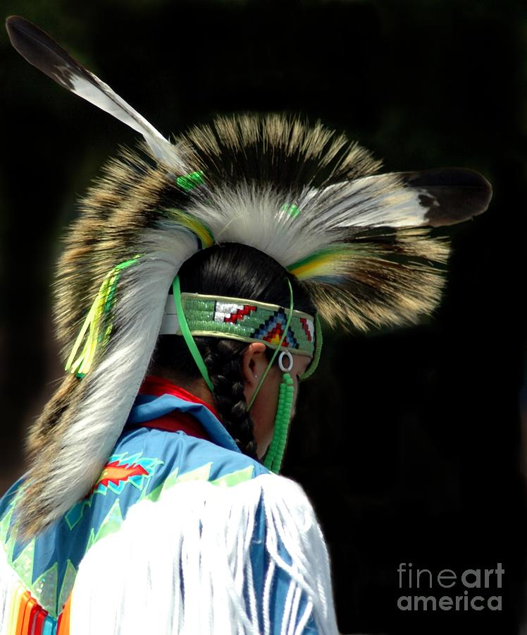 Native Photograph - Native American Boy by Kathleen Struckle