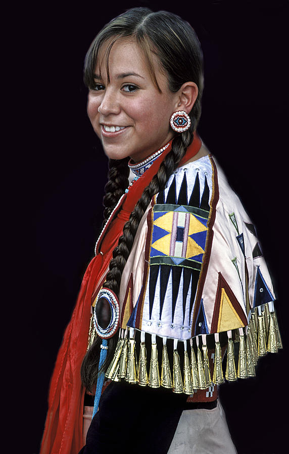 Native American Costume Photograph By Dave Mills