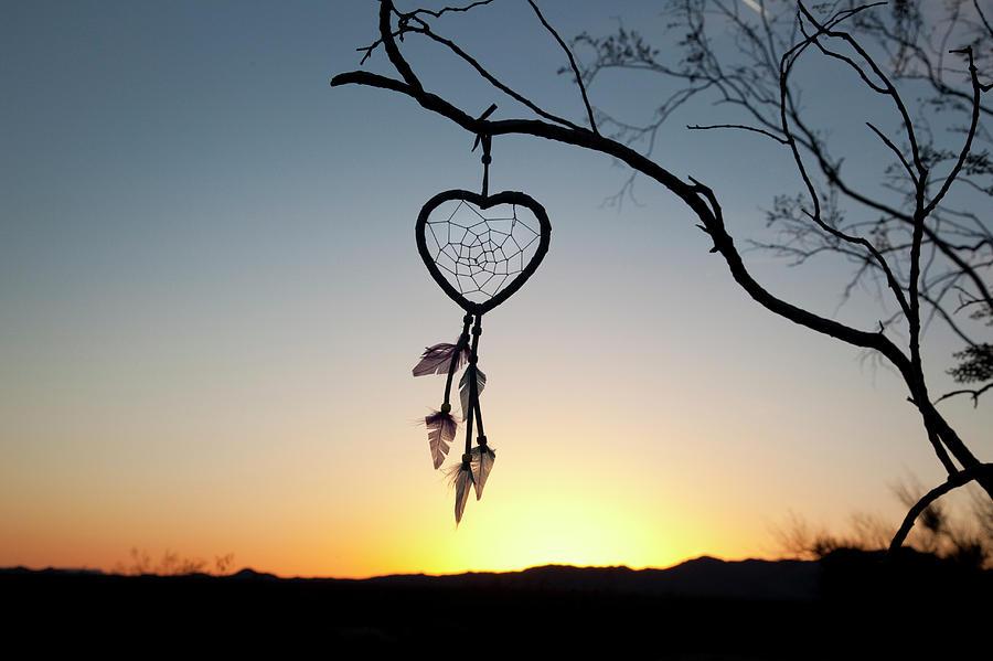 Arizona Photograph - Native American Heart Shaped by Angel Wynn
