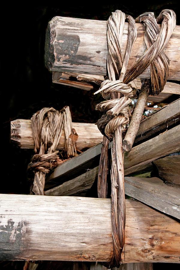 Native American Roof Lashing by Kent Sorensen