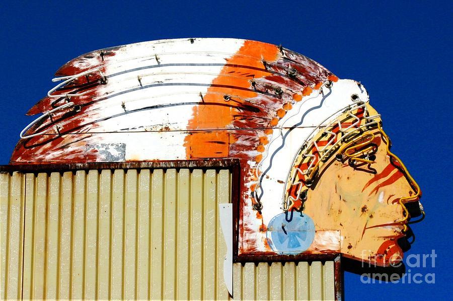 Native American Photograph - Native Neon by Kathlene Pizzoferrato