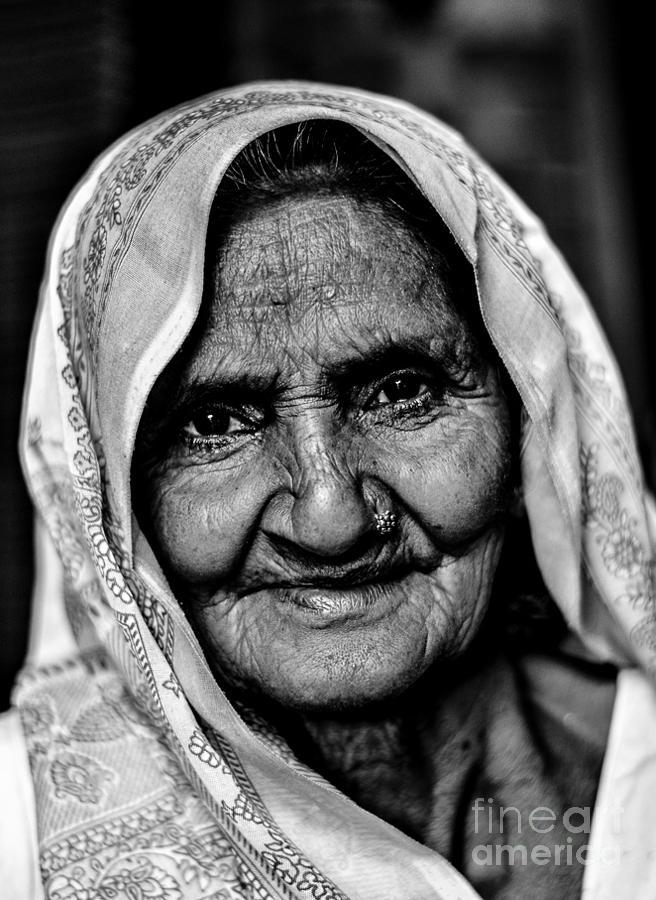 Black And White Photograph - Natural Beauty by Gautam Gupta