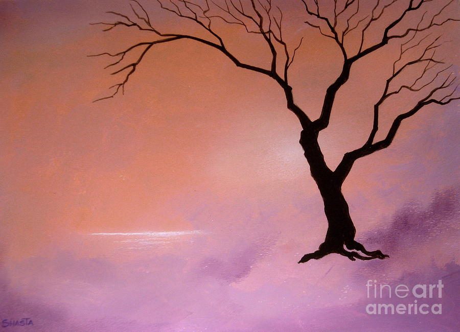 Landscape Painting - Natural  Beauty by Shasta Eone