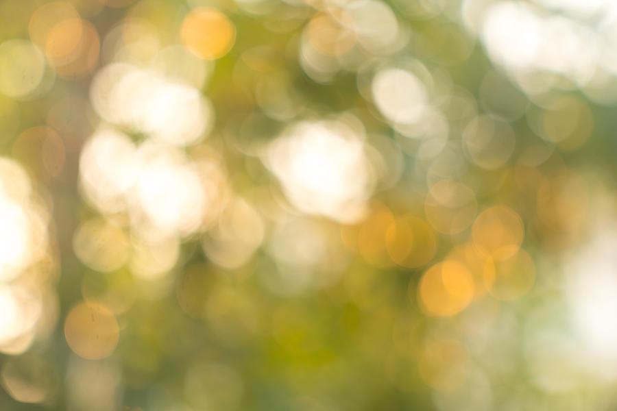 Natural Bokeh,blurred Bokeh. Photograph by Witthaya Prasongsin