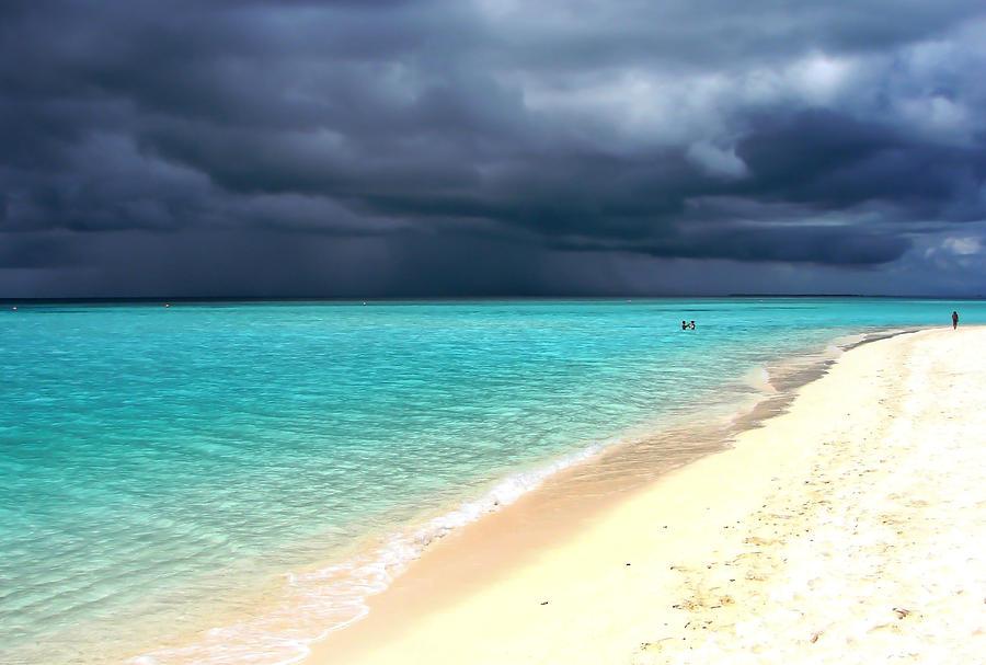 Ocean Photograph - Natural Drama by Jenny Rainbow