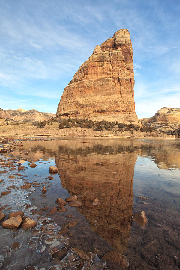 Steamboat Rock Photograph - Natural Elements by Darryl Wilkinson