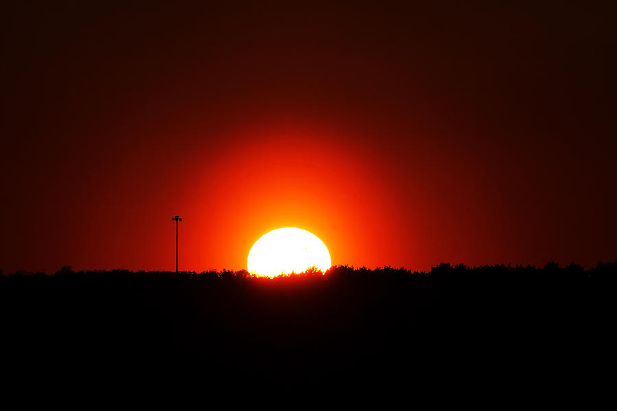 Sunset Photograph - Natural Light Only by Debbie Oppermann