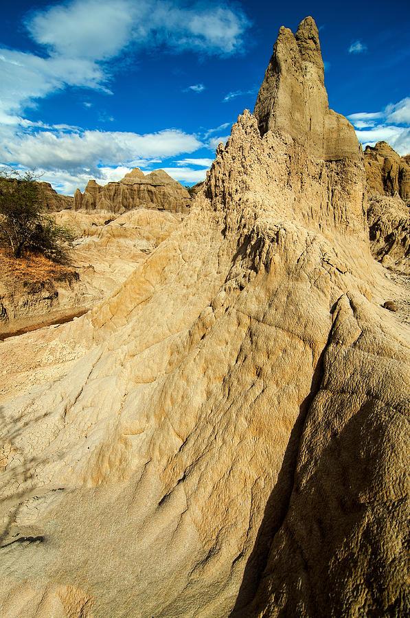 Desert Photograph - Natural Stone Pillar by Jess Kraft
