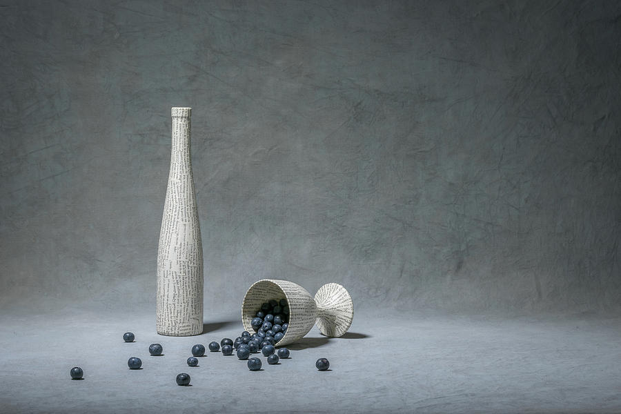 Blueberry Photograph - Nature & Culture by Christophe Verot