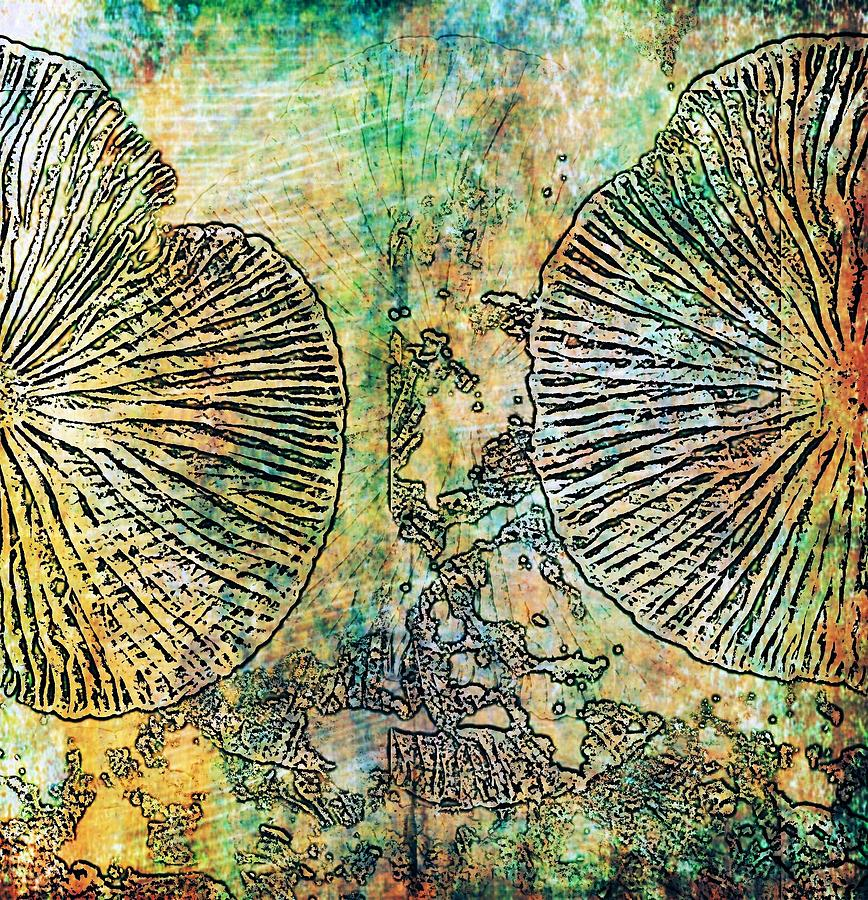 Nature Digital Art - Nature Abstract 19 by Maria Huntley