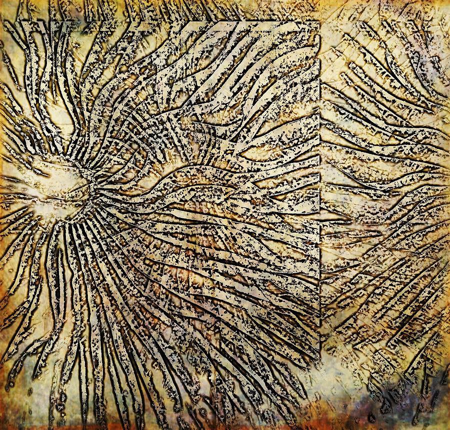 Nature Digital Art - Nature Abstract 2 by Maria Huntley