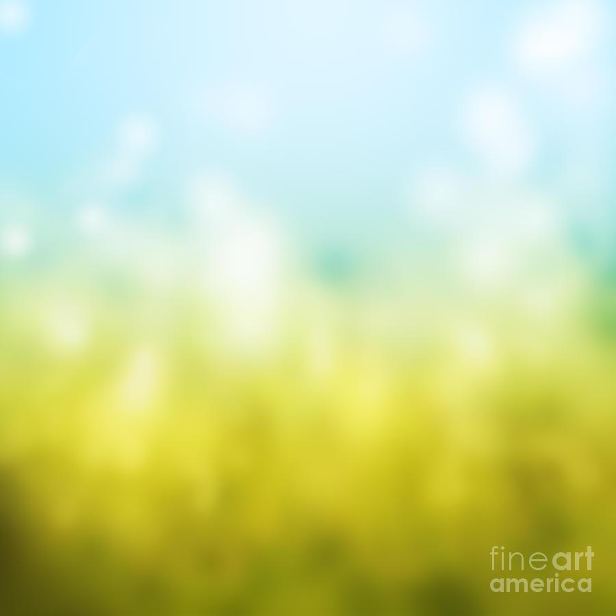 Autumn Painting - Nature by Atiketta Sangasaeng