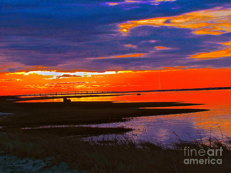 Seascape Photograph - Nature Ends And Begins by Qs House of Art ArtandFinePhotography