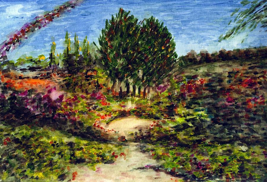 Landscape Painting - Nature by Harsh Malik