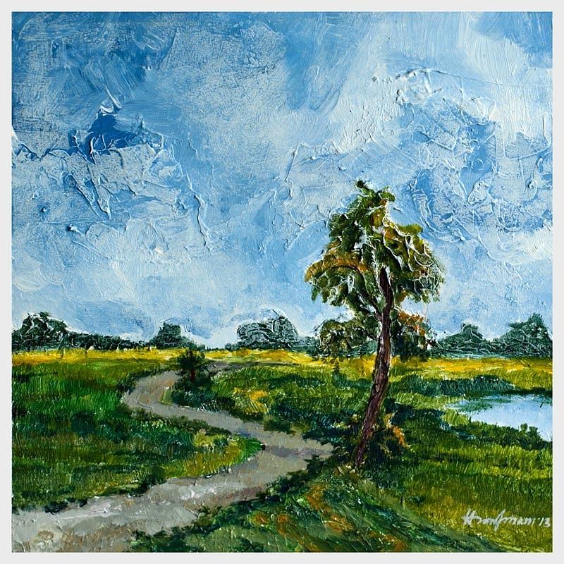 Nature Of Bangladesh Painting By Hasan Imam