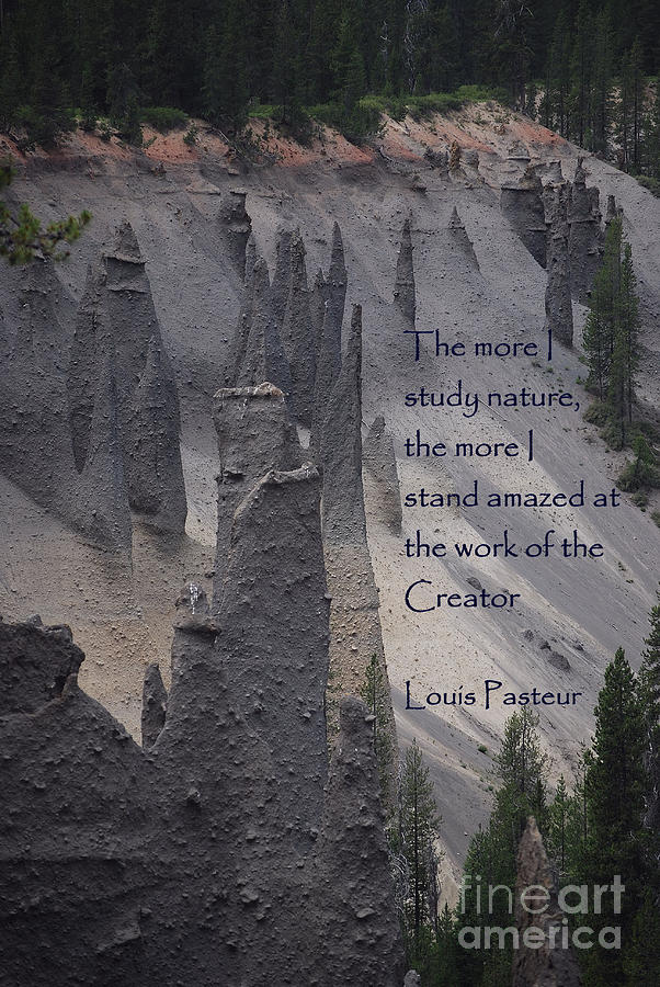 Crater Lake Photograph - Nature Study by Sharon Elliott