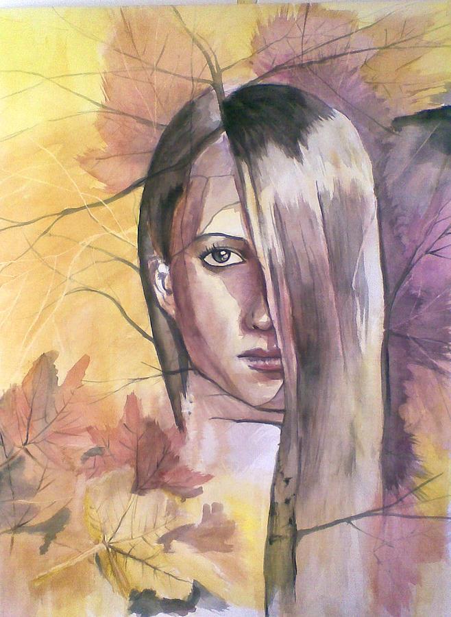 Nature Painting by Vaidos Mihai