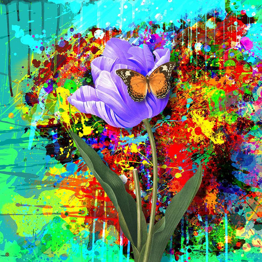 Gary Grayson Digital Art - Nature Vs Caos by Gary Grayson