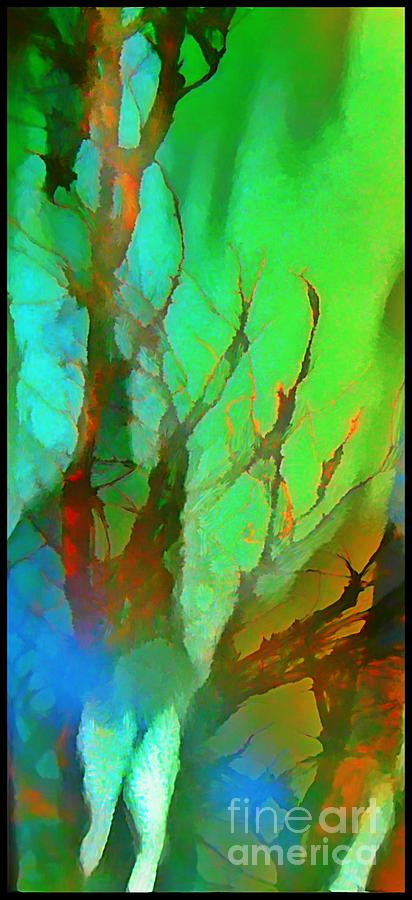Paintings Digital Art - Natures Beauty Abstract by John Malone