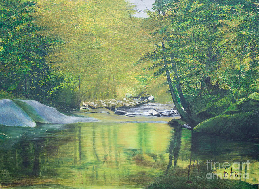 Tranquil Painting - Natures Charm by Joy Ballack