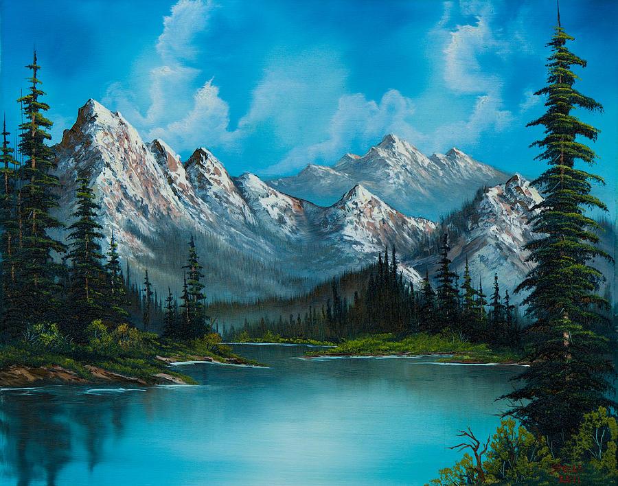 Landscape Painting - Natures Grandeur by C Steele
