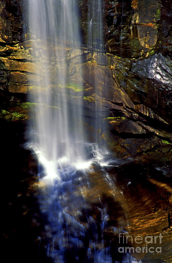Waterfalls Photograph - Natures Shower Stall by Paul W Faust -  Impressions of Light