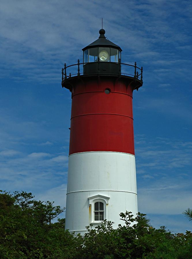 Lighthouse Photograph - Nauset Beach Lighthouse by Juergen Roth