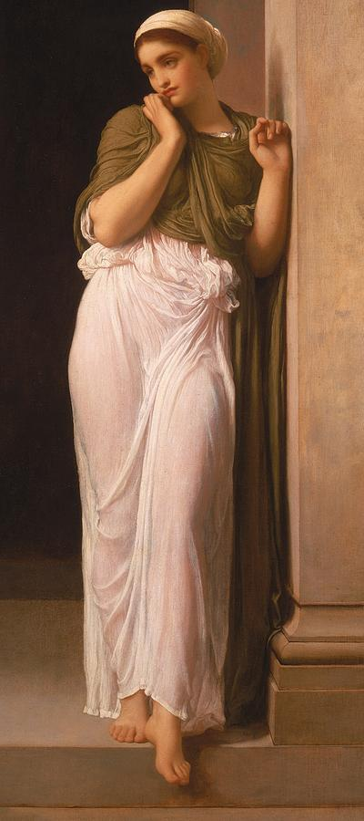 Leighton Painting - Nausicaa by Frederic Leighton