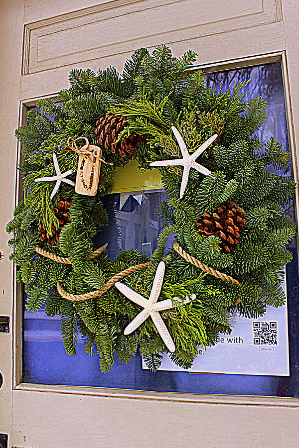 Nautical Christmas Wreath.Nautical Wreath
