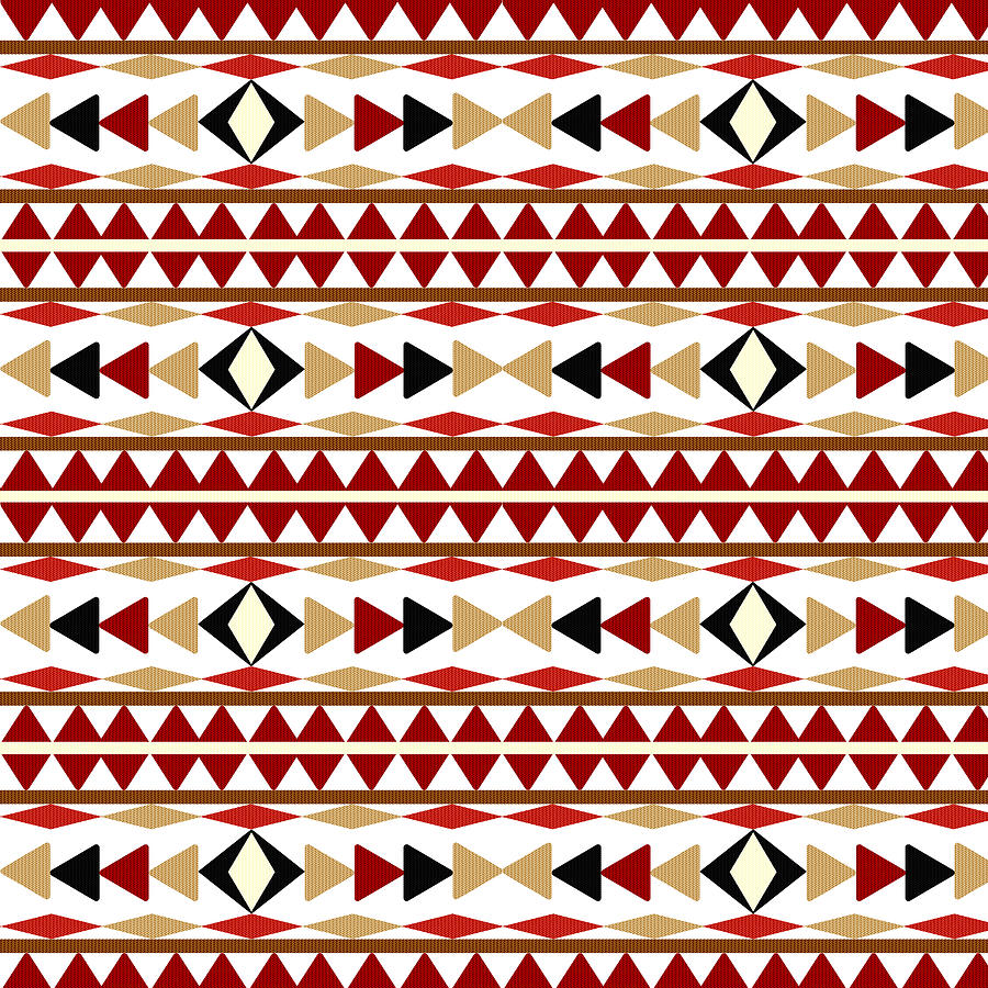 navajo designs patterns. Aztec Mixed Media - Navajo White Pattern By Christina Rollo Designs Patterns A