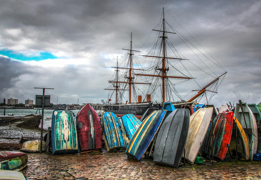 Hdr Photograph - Naval History by Ross Henton