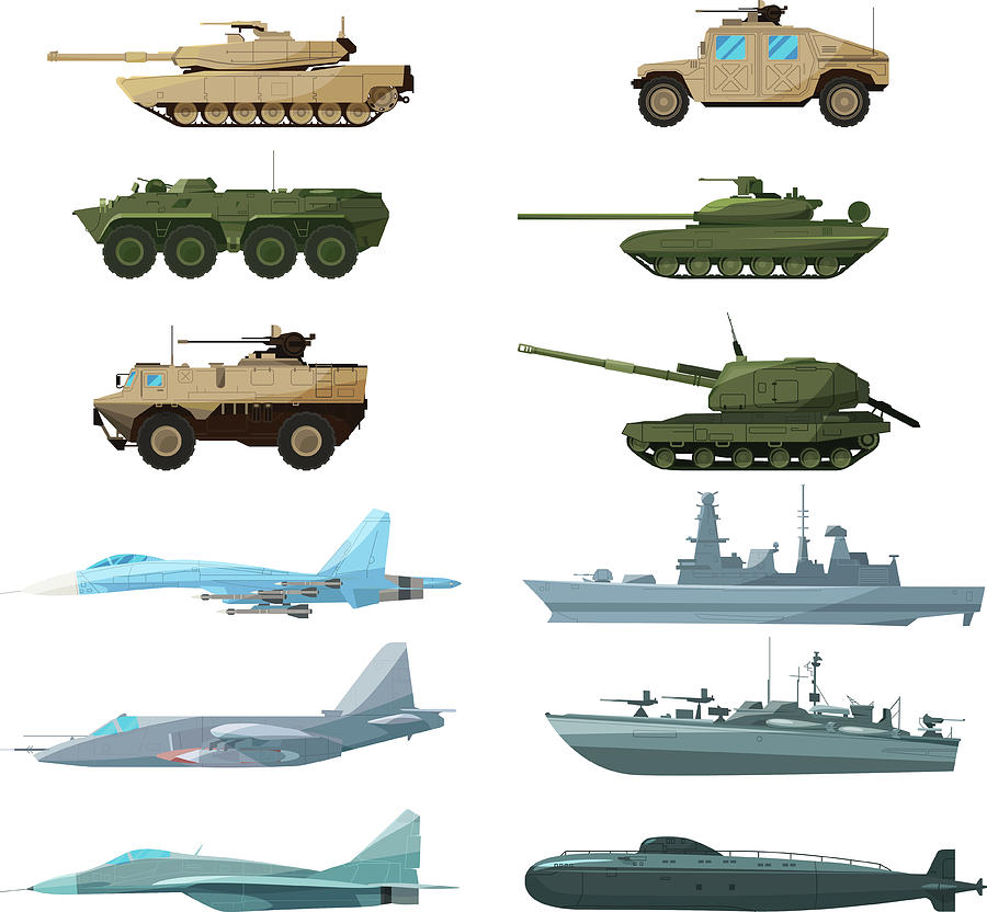 Naval Vehicles, Airplanes And Different Digital Art by Onyxprj