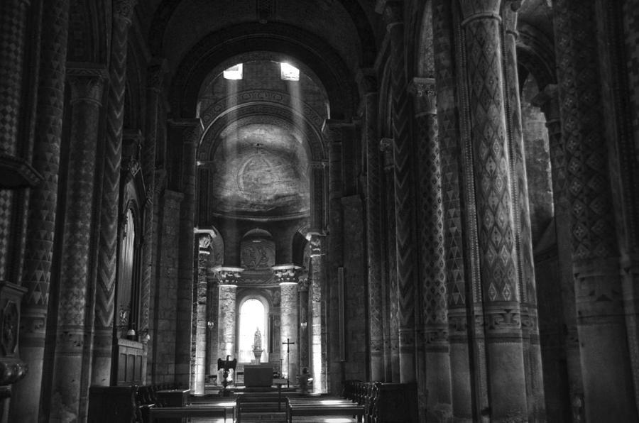 Nave Of Eglise Notre Dame La Grande De Poitiers Photograph By Ricardmn Photography