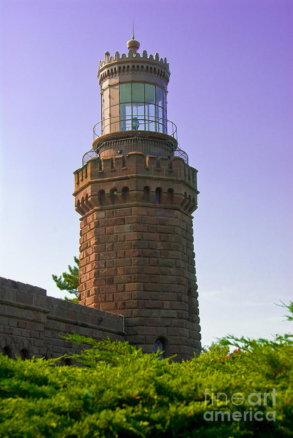 Lighthouses Photograph - Navesink Twin Lights Lighthouse by Anthony Sacco