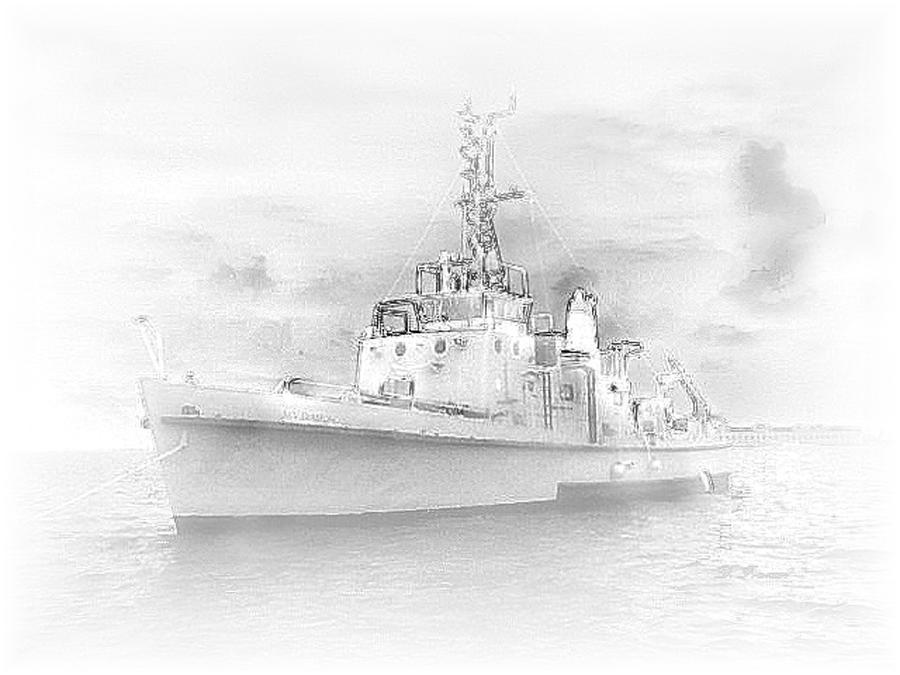 Navy M/v Diamond Photograph