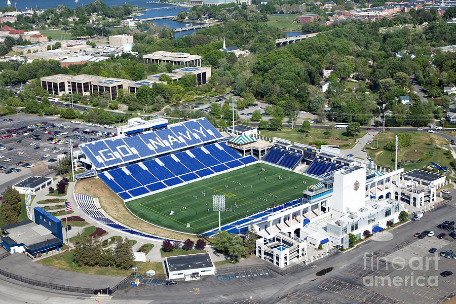 navy marine corps memorial stadium photograph by bill cobb