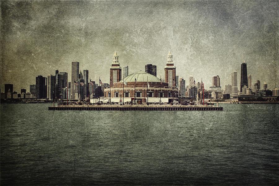 Chicago Photograph - Navy Pier by Andrew Paranavitana