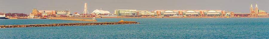 151 Photograph - Navy Pier by Cliff C Morris Jr