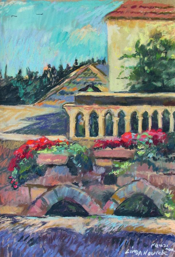 Nazareth Rooftops by Linda Novick