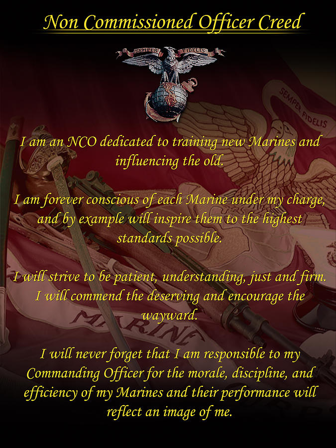 Nco Creed Digital Art by Annette Redman