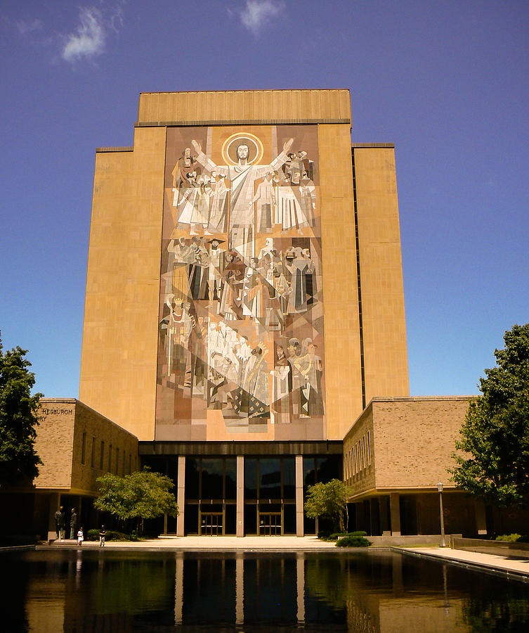 Nd Touchdown Jesus Photograph By Connie Dye
