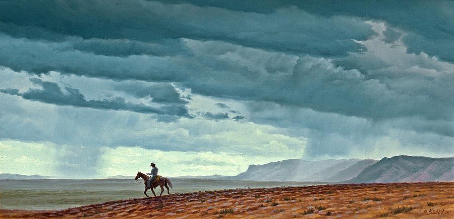 Landscape Painting - Near Carlesbad by Paul Krapf