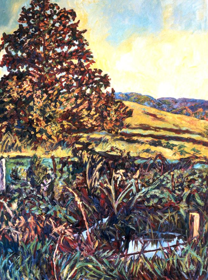 Landscape Painting - Near Childress by Kendall Kessler