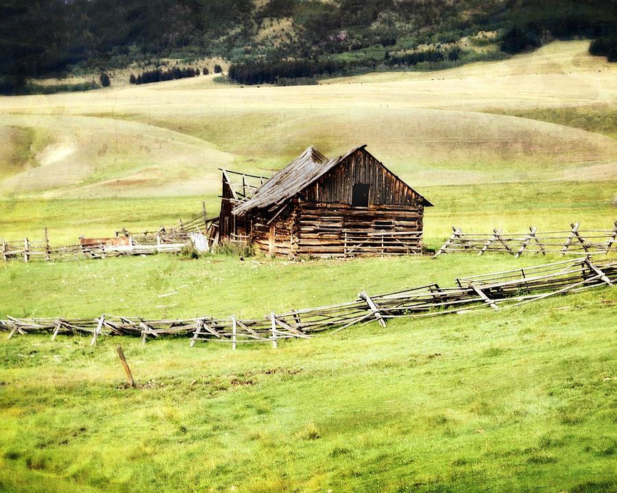 Ranch Photograph - Near Helena by Marty Koch