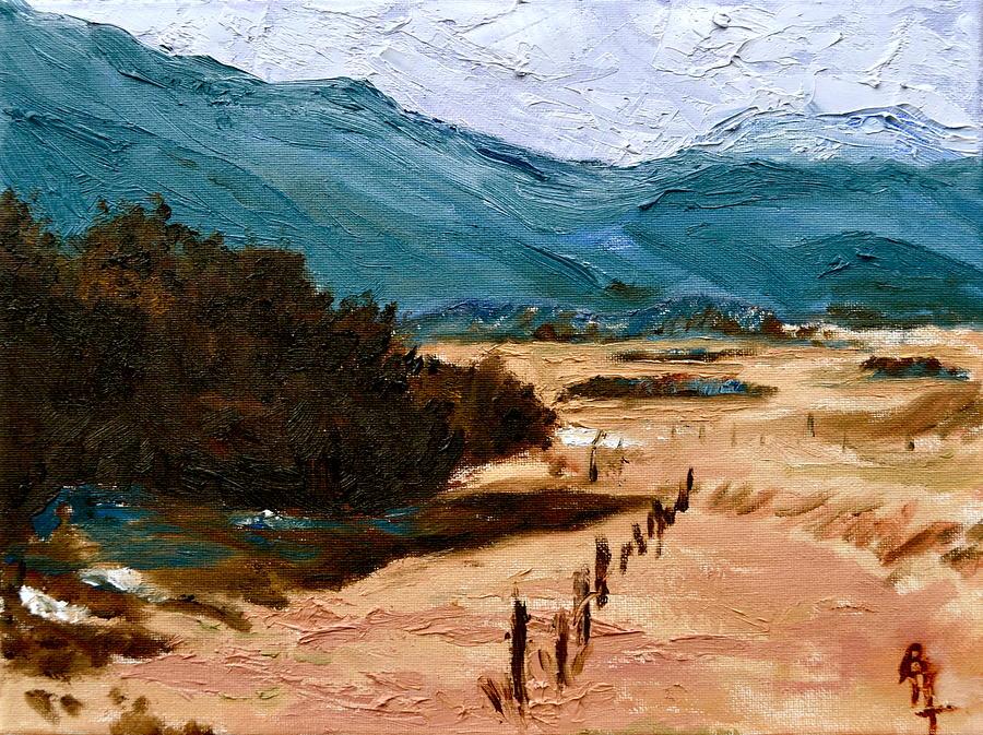 La Veta Painting - Near La Veta by Beverley Harper Tinsley